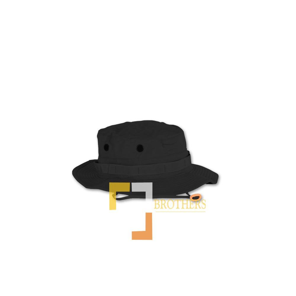 Black Military Boonie Hat - Brotactical 9a037e3e580c